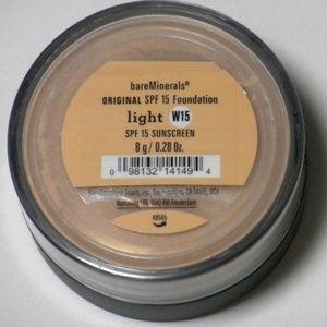 New Bare Minerals Escentuals Foundation LIGHT